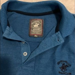Beverly Hills Polo Club Modern Fit Collared Shirt